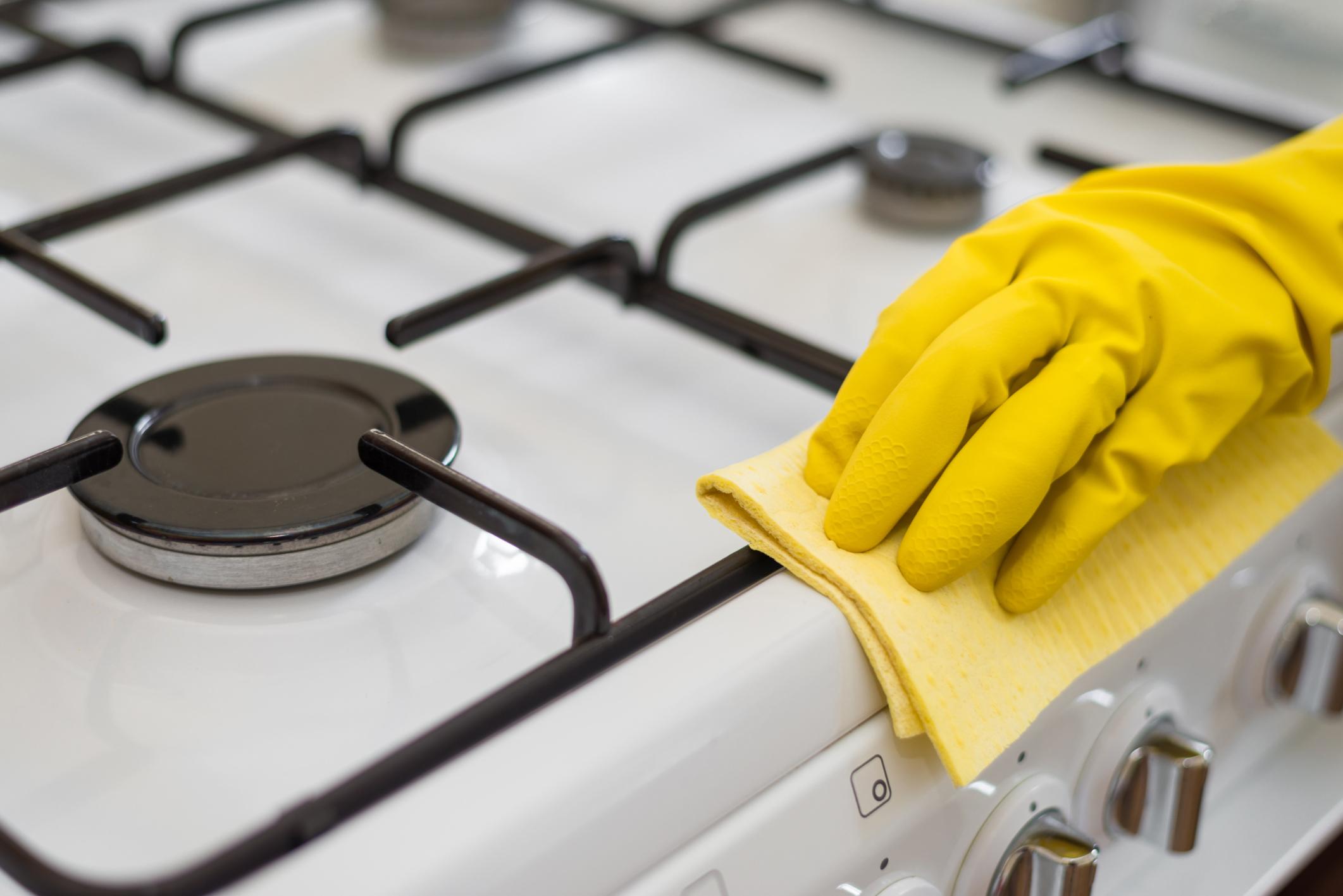 Как почистить газовую плиту в домашних условиях - О чистоте 53